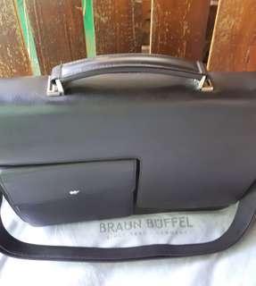 BRAUN BUFFEL Germany men briefcase
