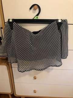 Bardot strapless top