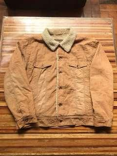 Arizona Faux Shearling-Lined Jacket