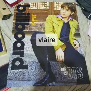 BTS x Billboard Official Taehyung V Poster