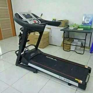 Best seller treadmill TL 650 hitam putih