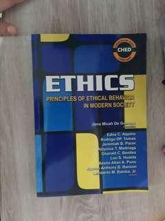 Ethics principles of ethical behavior in modern society
