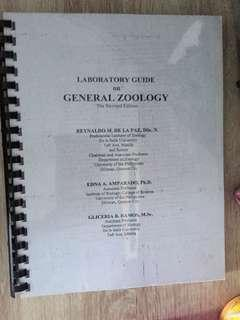 Laboratory Guide on General Zoology