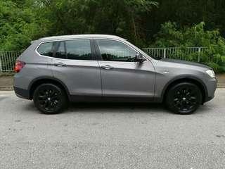 BMW X3 2.5 2013