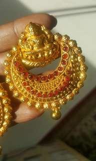 Indian Temple Jewellery( Earrings)