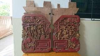 Beautiful Chinese Carvings (a pair)