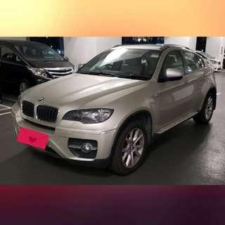 BMW X6 35IA 2011 行貨 銀色/黑籠