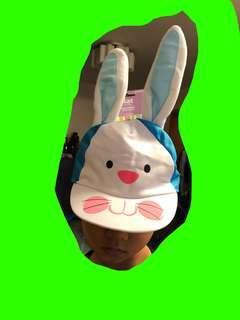 全新 兔仔造型 女童 鴨嘴帽 cap