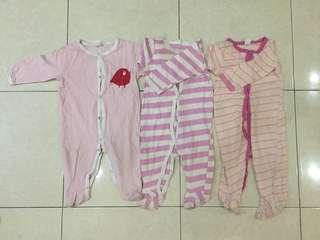 jumper bodysuit romper sleepsuit  jumpsuit baby take all murah 12m
