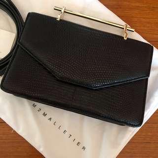 102673750ac M2Malletier Indre Lizard Bag
