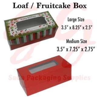 Loaf/Fruitcake Box