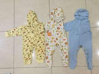 jumper bodysuit romper sleepsuit  jumpsuit baby take all murah 0-6m