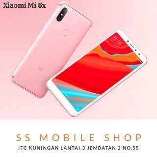 Xiaomi Mi 6X Smartphone [64GB/ 4GB] Bisa Cicilan Bunga 0%