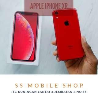 Promo Bunga 0% Apple iPhone XR 128 GB Hongkong Set Dual Sim