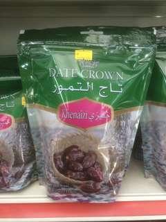 Kurma Import UAE Dates Crown Khenaizi 500g & 250g