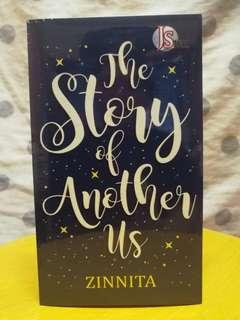 Novel The Story Of Another Us #BlackFriday100