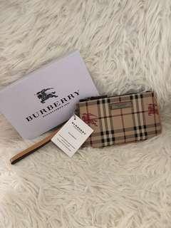 Burberry wristlet