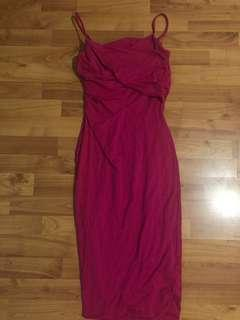 Kookai Wrap Pink Dress
