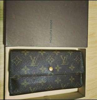 Authentic Louis Vuitton Long Wallet