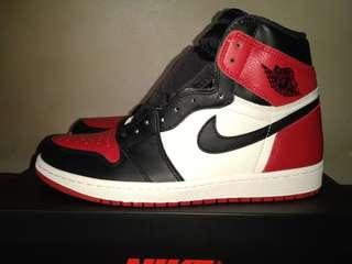 7ce871ad3e3d10 Jordan 1 Bred Toe size 10.5