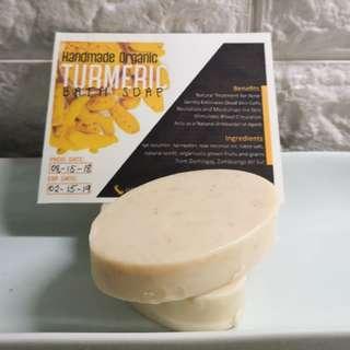 Organic bath soaps