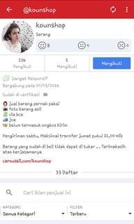 RECOMENDED SELLER