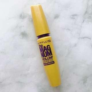 (Used) Maybelline the Magnum Volum' Express Waterproof Mascara