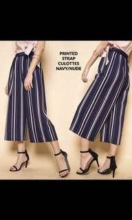 Stripes culotte