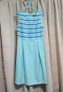 Glitter Glam Turquoise Dress size XS