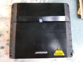 Alpine PMX-F640 4 channel amplifier