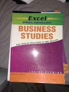 Preliminary business studies EXCEL