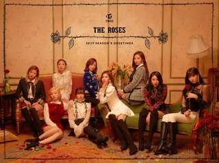[Pre-order] Twice 2019 Season's Greetings 'THE ROSES'