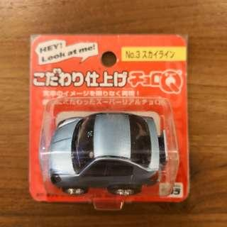 TOMY TAKARA CHORO Q Hey look at me No.3 NISSIN SKYLINE V34
