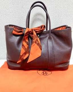 SALE!!! HERMES garden party with twilly AUTHENTIC!