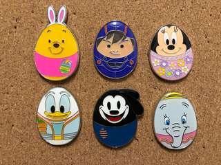 迪士尼襟章 Disney pin trading 花蛋