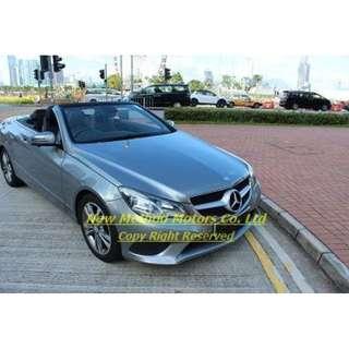 MERCEDES-BENZ E200 Cabrio 2013