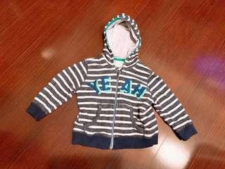🚚 二手Zara baby❤️男童帽外套18-24m