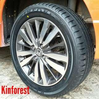 Tyre- Kinforest. Honda Jazz 🙋‍♂️ R16 sizes from $80