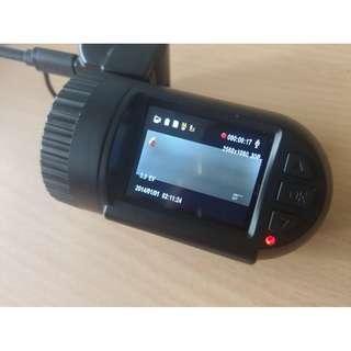Mini car camera / dash cam with GPS logger