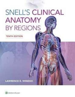 Snell's Clinical Anatomy by Regions 10th Ed. PDF