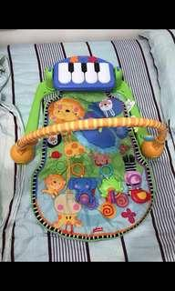 Fisher price piano playgym