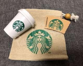 Starbucks Mini Cup & Pouch Set