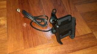 Mobile Holder with charger