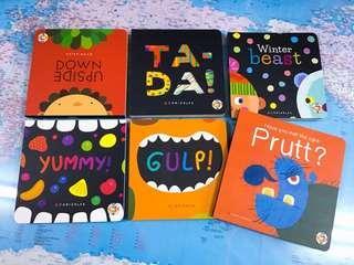 NEW~ TA DA! the Magic Book Set (6 board book set )