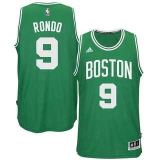 Men's M Adidas NBA Jersey Boston Celtics Rondo