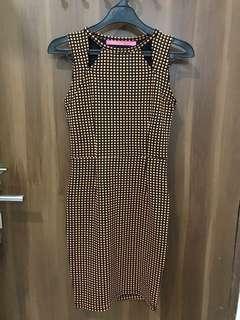 Hardware Square Bodycon Dress