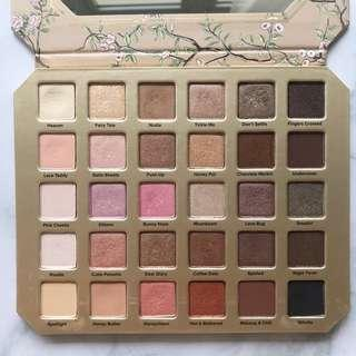 (Used) Too Faced Natural Love Eyeshadow Collection