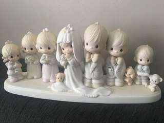 Precious Moments Figurine- This Is The Day Which The Lord Hath Made