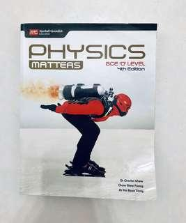 O level Physics Matters 4th Edition