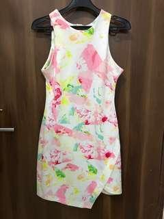 Asymetric Bodycon Dress